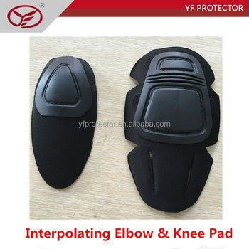 military uniform elbow pad/inner set elbow pad with EVA foambing