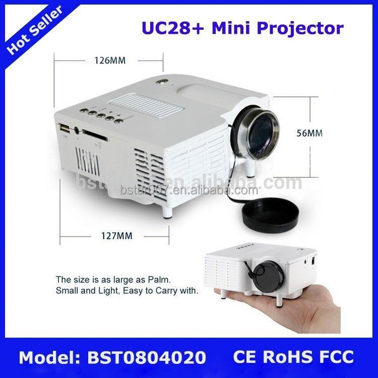 Uc28 mini projector 3d hologram projector for ipad for Mini projector for ipad best buy