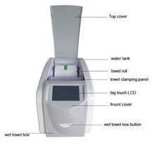 hot automatic wet towel dispenser plastic