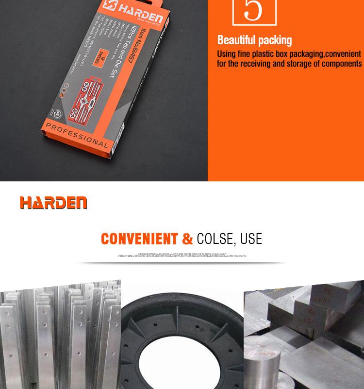 Professional Custom Alloy Steel 12PCS Tap And Die Set
