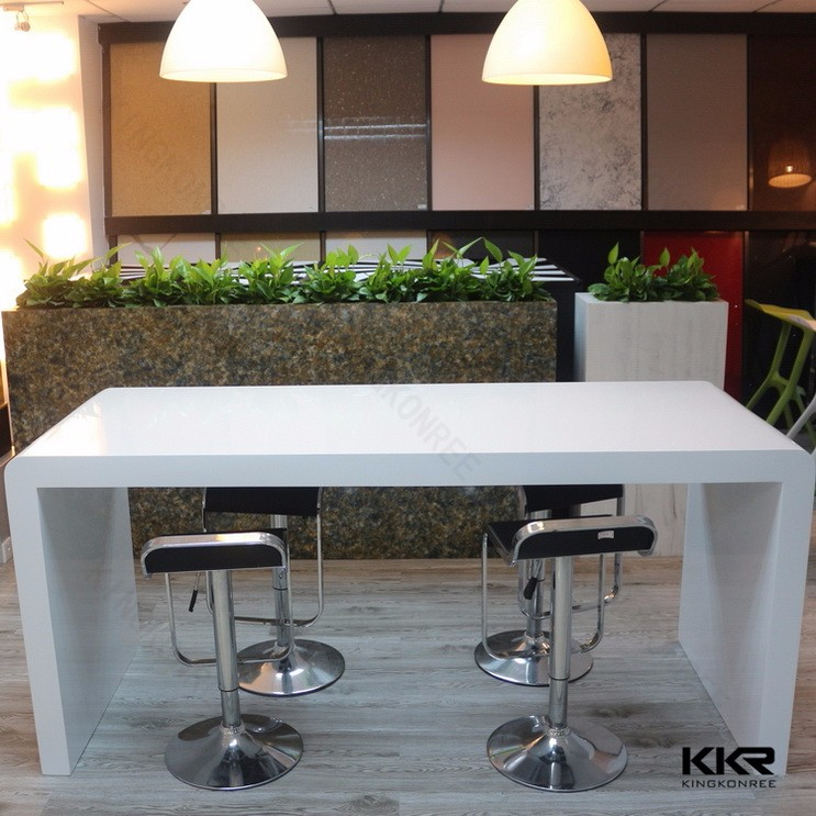Commercial solid surface modern wine lighted led bar counter for sale