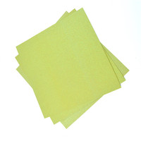 advanced Taiwan Machines upholstery used yellow glitter paper for scrapbooking