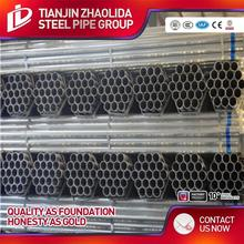 BS 1387 standard promotion personalized hot dipped galvanized rigid steel tube used for construction