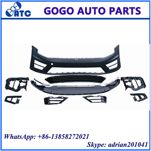 FOR VW GOLF 7 R20 FRONT BUMPER ASSY BODY KITS