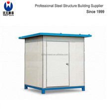 Low price prefab houses steel structure small single house for sale