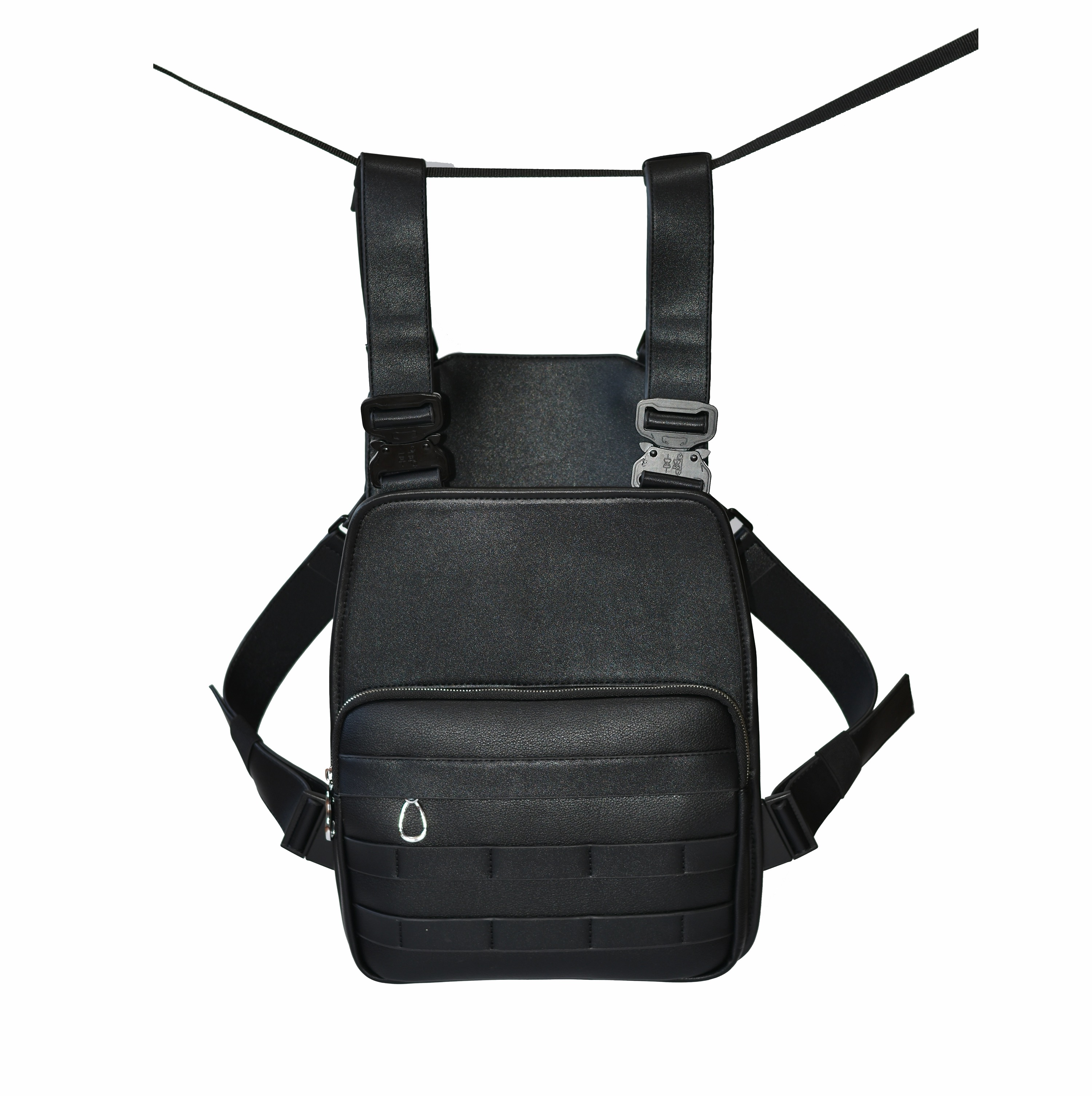 2019 hot selling in Amazon 2019 New Design Tactical Chest Rig Bag Military Vest Pouch EDC Combat Bag with Suspenders
