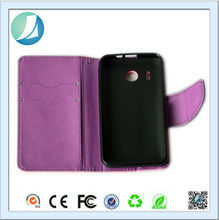 New arrival concise style leather flip case for huawei ascend y320