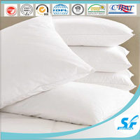 decorative square sofa bed leisure microfiber down feather pillow