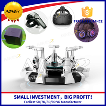 Smart design Platoon vr cinema equipment virtual reality interactive games