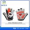Bike Racing Gloves Motorcycle Riding Protective Armor Short Leather Gloves