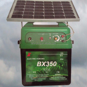 solar electric fence energizer 5 joules for farm