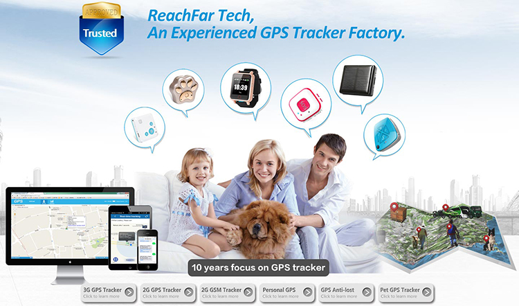 Original Baby Watch GPS Tracker Reachfar RF-V16 Portable Hidden Mini SOS GPS Tracker For Kids