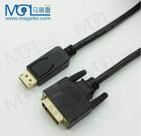 High speed DP to DVI cable adapter, Displayport to DVI cable adapter converter male to male
