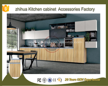 2017 wholesale Customize fashionable modular kitchen cabinets
