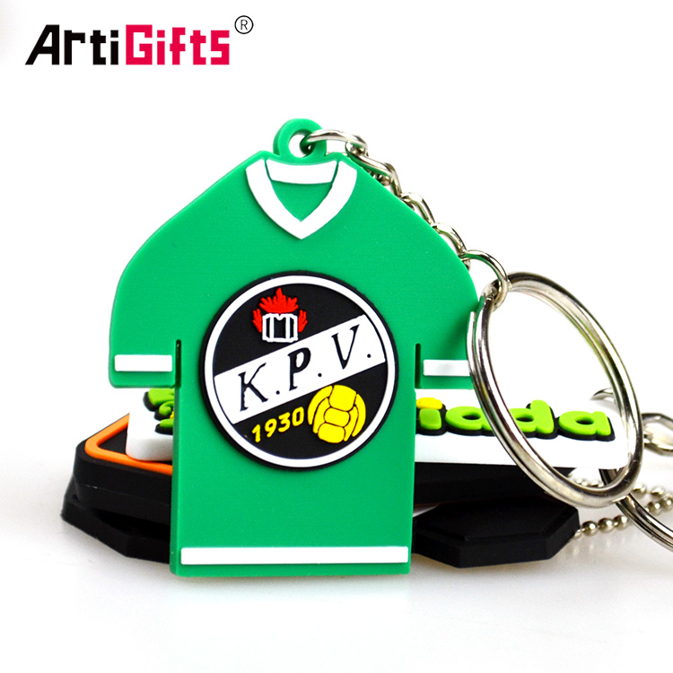 Promotional cheap custom 3d soft pvc keychain