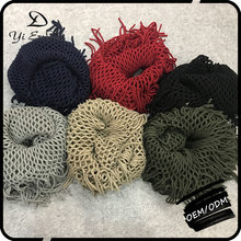 In Stock 2017 Winter Fashion Oem High Quality Knitted Infinity Scarf