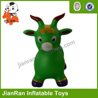 PVC material inflatable toy sheep inflatable animal hopper
