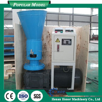 Automatic Vertical Ring Die Pellet Machine Grass Pellet Mill