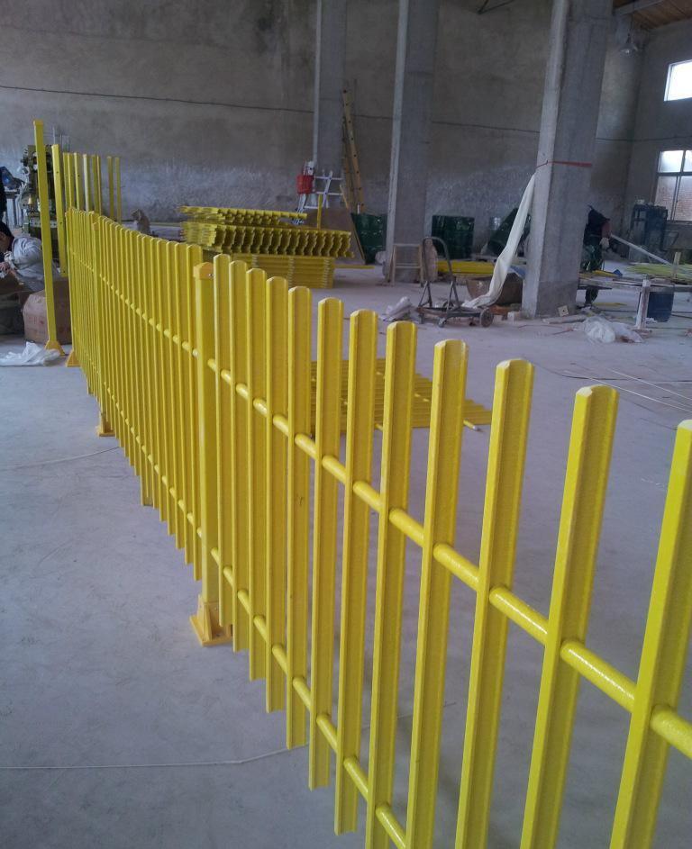 Fiberglass Fencing Products : Frp fence highway guardrail fiberglass rail