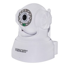MJPEG CMOS Remote Pan Tilt rotate WPA Indoor Dual Audio robot wireless ip camera