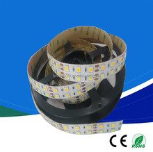Cool white ,<strong>RGB</strong>,cw+ww Non waterproof Flexible Cheapest SMD5050 Double row led Strip