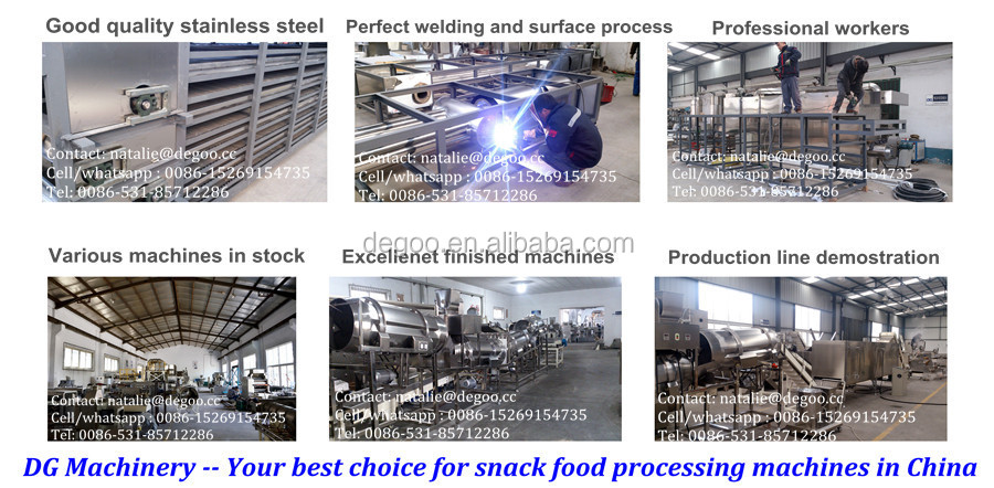 Automatic Instant corn flakes production line,corn flake making machine