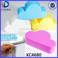 Wholesale Colored Clouds Magnetic Promotional Gifts Magnet Key Holder