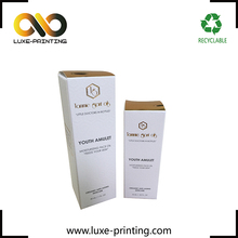 Skin Care Cream Use paper package box color cosmetic packaging