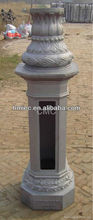 cast aluminium wall lamp holder/base