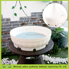 Plastic plant pots base planter storage pot
