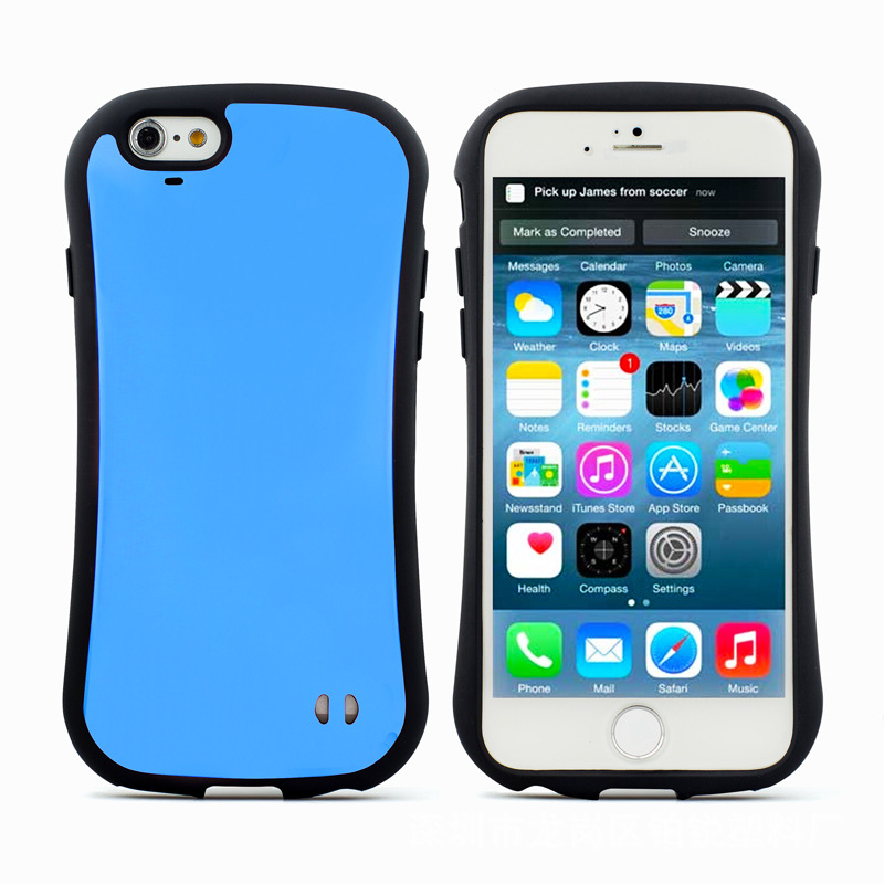 Newest Colorful iface phone case miller mixed soft TPU PC phone case for iPhone 6s / 6s plus
