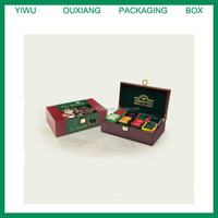 Luxury Wooden 8 Compartment Tea Chest Box