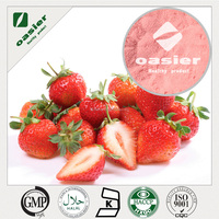 strawberry powderWater Soluble Natural Organic Strawberry Freeze dried Powder