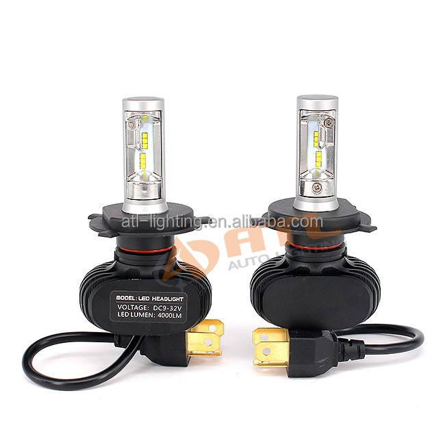 ATL <strong>L1</strong> hot sale LED headlight,40W Seoul CSP LED,H4 Hilo for cars