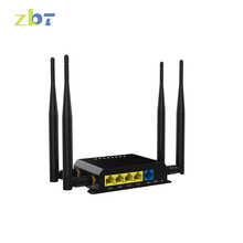 192.168.1.1 4 port 3g/4g wireless router with 4 sim card slot