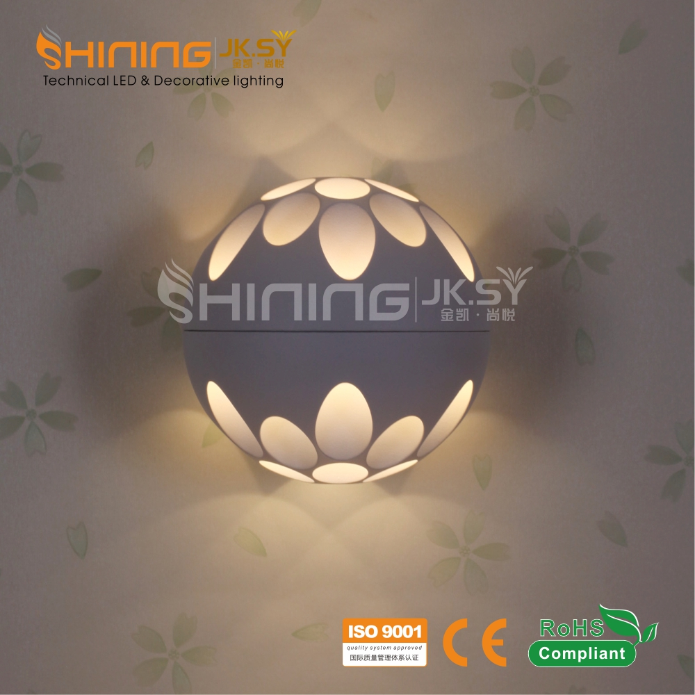 Compound Fitting Indoor Led Wall Light Wholesale Price Hot Sale Modern Art SMD 2835 Led Chip Wall Lamp China Factory