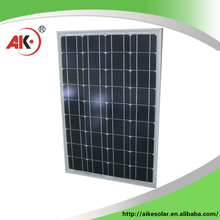 High quality mono solar/pv panel/module/cell 60w