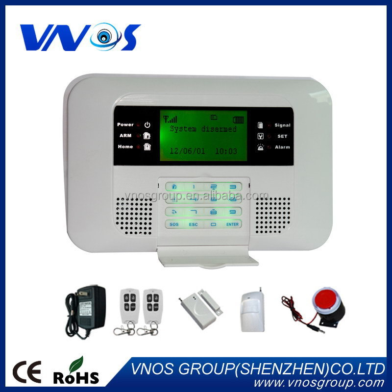 New promotional anti-intrusion pstn alarm system