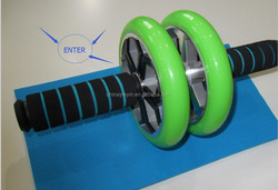 Gym ab wheel roller power exercise