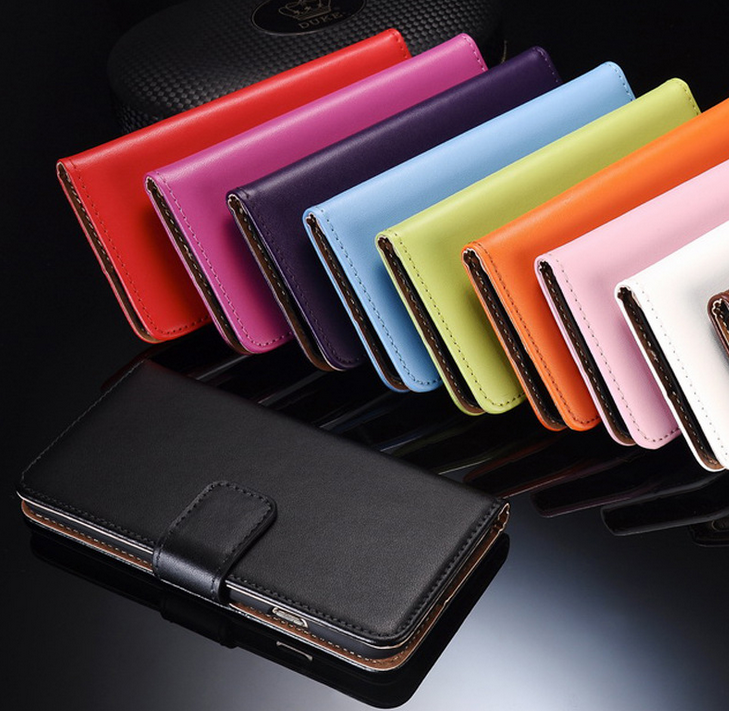 mobile phone leather case,flip cover case for iphoen cover ,soft leather telephone wallet case