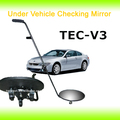 Shatterproof car security mirrors, under vehicle security inspection system TEC-V3