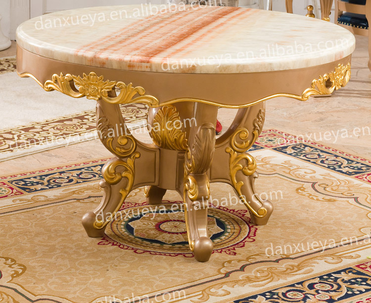 fancy luxury marble dining table in dining room furniture