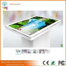 "42"" High quality USB capacitive touch screen foil film, interactive multi touch foil table kiosk(WVT-TTK)"