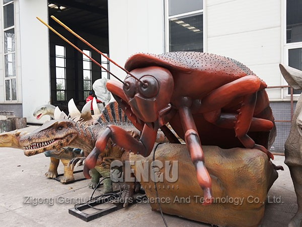 Robotic Insect Animated Insect Sculpture