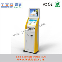 China manufacturer self service theater ticket machine with smart card readers