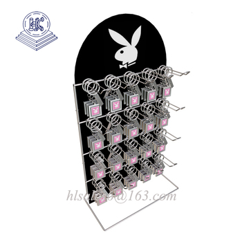 Metal Spinner Key Chain Display Rack