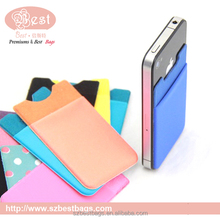 promotional pocket for cellphones,RFID blocking phone case/credit card holder