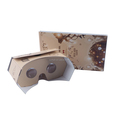 new POP-UP 3d vr glasses V3.0 virtual reality cardboard vr viewer cardboard google 34mm
