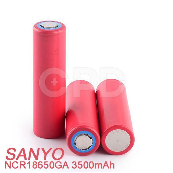 Wholesale price battery for Sanyo NCR18650GA 3500mAh 10A 18650GA with PCB 18650 battery