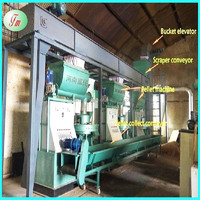 biomass wood pellet making machine CE wood pellet mill